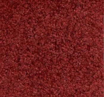 schoonloopmat de Luxe rood