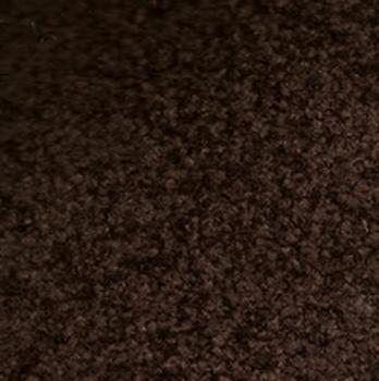 schoonloopmat de Luxe donker bruin